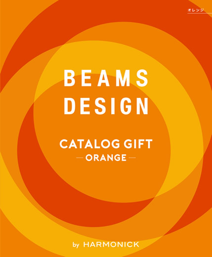 BEAMS DESIGN CATALOG GIFT【ORANGE】